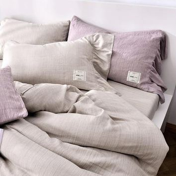 Ruffle Trim Sheet Set -SheIn(Sheinside)