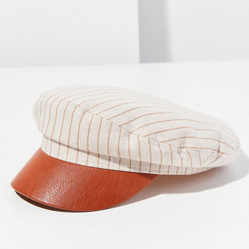 Striped Chambray Fisherman Hat | Urban Outfitters