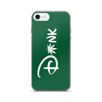 Dank Green Cannabis Cartoon Typography iPhone 7/7 Plus Case