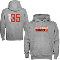 Kevin Durant Oklahoma City Thunder Majestic Youth Name and Number Hoodie - Gray - http://www.shareasale.com/m-pr.cfm?merchantID=7124&userID=1042934&productID=555853291 / Oklahoma City Thunder