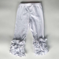 In Stock- white icing pant