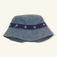 Cotton Chambray Bucket Hat