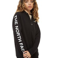The North Face Logo 1/4 Zip Hoodie | JD Sports