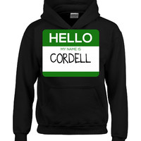 Hello My Name Is CORDELL v1-Hoodie
