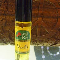 Wild Rose Vanilla Roll On Perfume Oil 1/3 oz. hippie perfume fragrance