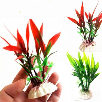 new Underwater Artificial Plant Grass for Aquarium Fish Tank Landscape Decoration