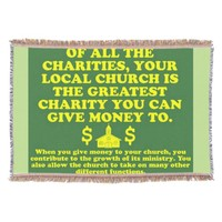 Your Church Is The Greatest Charity. Throw
