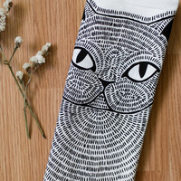 Persian Cat - Tea Towel - Dish Cloth
