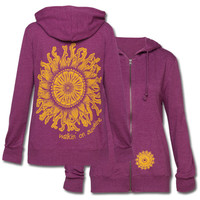 Recycled Sunny Hoody: Soul Flower Clothing