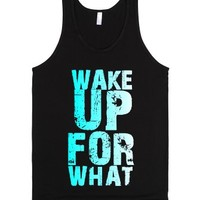 For What Reason-Unisex Black Tank