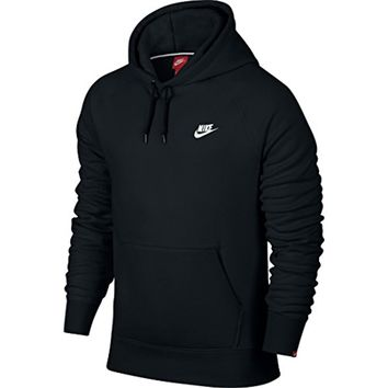 Nike Mens AW77 Fleece Pull-Over Hooded Sweatshirt