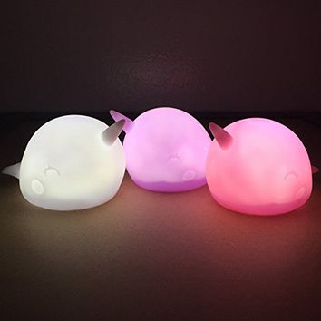 Nari Narwhal Ambient Night Light