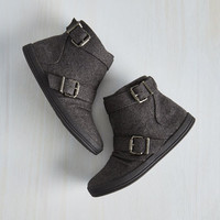 Urban Night Class Cutie Bootie in Charcoal