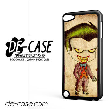 Harley Quinn And Joker Art Couple Case Device 1 DEAL-5069 Apple Phonecase Cover For Ipod Touch 5