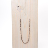 Love, Poppy Mocha Beaded Necklace