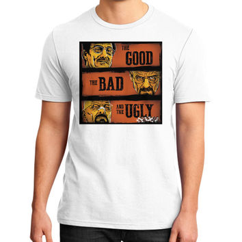 The Good, the Breaking Bad and the Ugly District T-Shirt (on man)