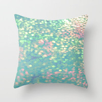 Mermaid's Purse Throw Pillow by Ally Coxon |iphone 3 3g 4 4s 5|skins|Prints|Bags and more Society6