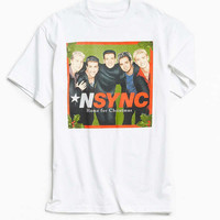 NSYNC Home For Christmas Tee | Urban Outfitters