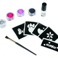 Disney Minnie Mouse Glitter Tattoo Kit