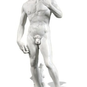 David Statue by Michelangelo Museum Replica 10.5H