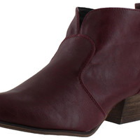 Chelsea Crew Andrea Women's Ankle Boots Vegan Leather