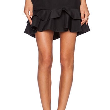 keepsake Take You There Skirt in Black