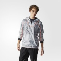 adidas Running Windbreaker - White | adidas US