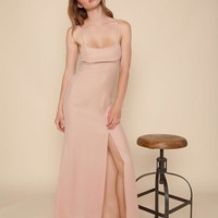 Christy Gown Dusty Rose