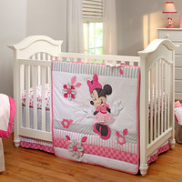 Minnie Mouse Crib Bedding Set for Baby - Personalizable