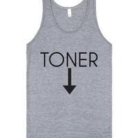 Toner-Unisex Athletic Grey Tank