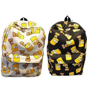 Street Gods Bart Simpson Backpack