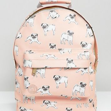 Mi-Pac Mini Pug Print Backpack at asos.com