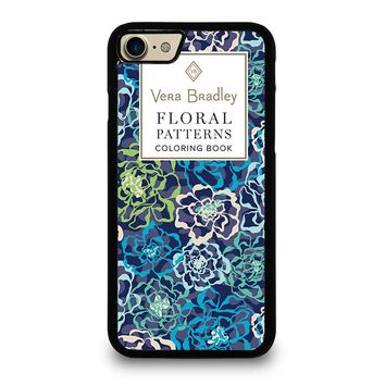 VERA BRADLEY VB FLORAL PATTERNS CB iPhone 4/4S 5/5S/SE 5C 6/6S 7 8 Plus X Case