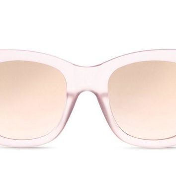 Quay After Hours Pink Sunglasses, Pink Lenses