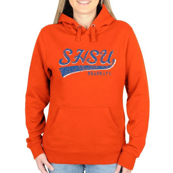 Sam Houston State Bearkats Ladies All-American Secondary Pullover Hoodie - Orange