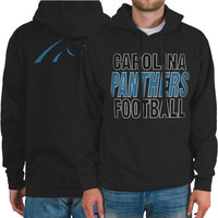 Carolina Panthers Backfield Pullover Hoodie – Gray