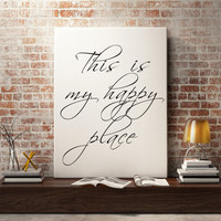 Wall art prints - Typography print, printable art, wall art quote, printable quotes, Bathroom art print