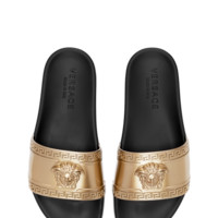 Versace Medusa Head Beach Slides for Men | US Online Store