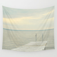 Dock Wall Tapestry by Pure Nature Photos
