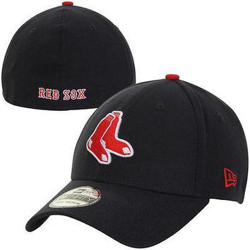 Boston Red Sox New Era MLB 39THIRTY Team Classic Stretch Flex Cap Hat 3930
