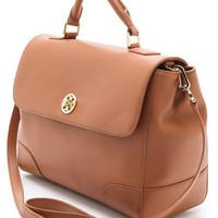 Tory Burch Robinson Top Handle Satchel | SHOPBOP