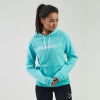 Signal Pullover Hoodie | Gym Hoodie | Mint Green / White | Gymshark