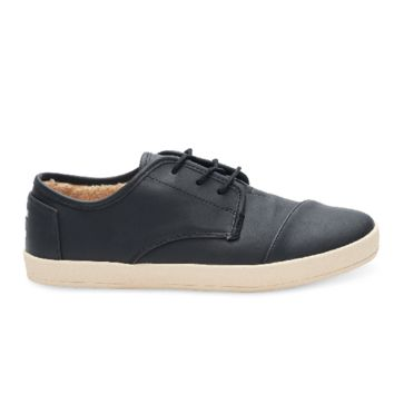 Toms Synthetic Leather Faux Shearking Paseo Sneakers