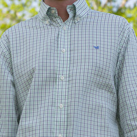 J.R. Crider's Clothing & Apparel — The Lindley Tattersall Dress Shirt
