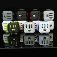 Squeeze Fun Stress Reliever Gifts Fidget Cube Relieves Anxiety and Stress Juguet For Adults Children Fidgetcube Stress Wheel