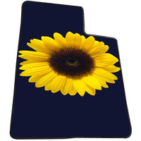 Sunflower Cute Flower 5196128f-7e36-47dd-85a9-6e1fca989eb0 for Kids Blanket, Fleece Blanket Cute and Awesome Blanket for your bedding, Blanket fleece *AD*