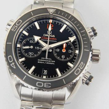 BNIB Omega Seamaster Planet Ocean Co-Axial 600 M 232.30.46.51.01.003 Mens Watch
