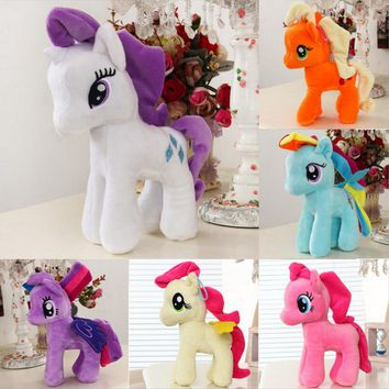 2017 New Movie My Little Pony Flutterbat Plush Anime Stuffed Doll Toy  Cosplay Access Props