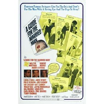 Guide For The Married Man Movie poster Metal Sign Wall Art 8in x 12in