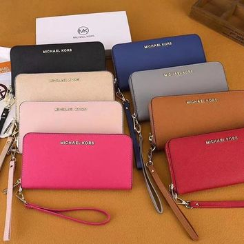 Michael Kors MK Clutch Bag Wristlet Wallet Purse-18